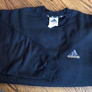Men's Adidas Long-Sleeved Sweatshirt